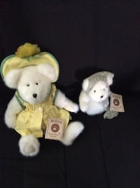2 x Boyd's The Head bean collection BNWT collectible Sweetie Mclemon and Snowy Crystalfrost Oakville