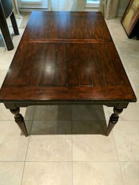 Brown wood table