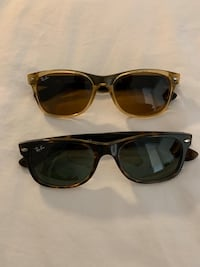 TWO Ray-Ban New Wayfarer Sunglasses Washington, 20001