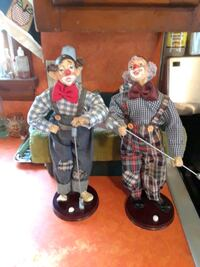 Pair of golfer figurines very nice for a gift for  Orrtanna
