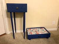 Funky End Table and Pet Bed/Foot Rest Los Angeles, 90020