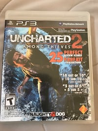 Uncharted 2 for PS3 Waterloo, N2T 1E3