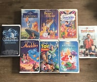 Disney VHS Movies Brampton, L6Z 2B2
