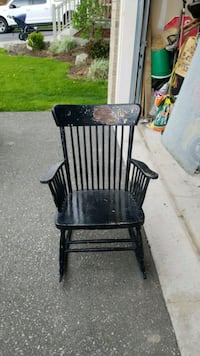 black metal frame black metal chair Oshawa, L1L 0C3