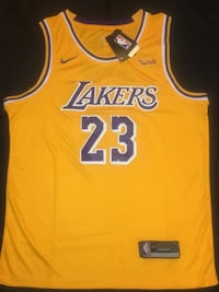 Lakers Lebron James Home Jersey (Gold) South Gate, 90280