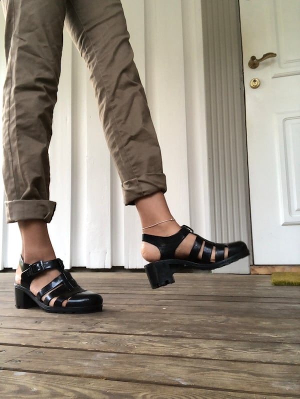 American Apparel Jelly sandals 4