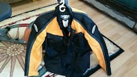 black and yellow full-zip jacket Gaines, 48436
