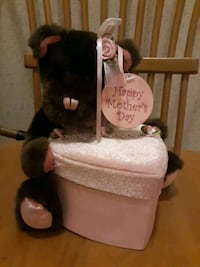 Happy Mothers Day bear attached gift box New Oxford, 17350