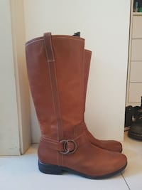 Female Brown Leather Boots  Greenacre, 2190