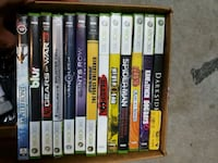 assorted Xbox 360 game cases Richmond, V6Y