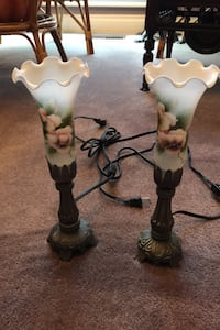 Flower Themed Bedside Lamps by Homesense Toronto, M9M 1G3