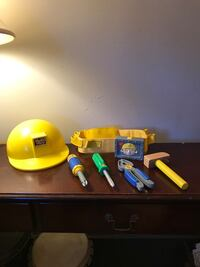 Bob the Builder talking/singing belt tool and hat set Point Pleasant, 08742