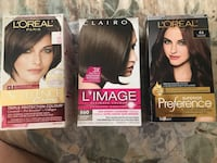Brown hair dye loreal Paris and clairol l'image brand new closed permanent Mississauga, L5V