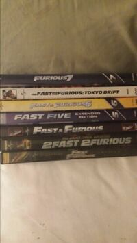 Fast and furious dvds Garden City, 48135