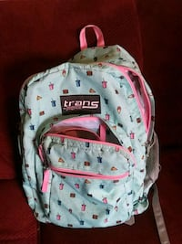 grey and pink backpack Fresno, 93703