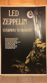 LED Zeppelin stairway to heaven poster