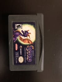 Nintendo game boy advance game cartridge Toronto