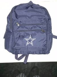 blue and white Dallas Cowboys backpack Dallas, 75216