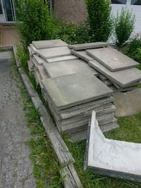 Free patio slabs. All in good shape. First come fi Toronto, M9V 4Z7