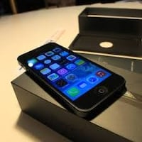 black iPhone 5 with box Chicago