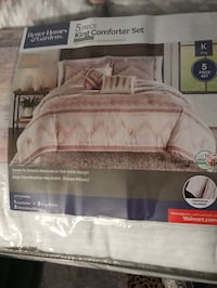 BRAND NEW IN THE PACKAGE - KING SIZE 5Pc COMFORTER SET Largo