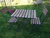 Foldable table set for outdoor Richmond Hill, L4C 4S8