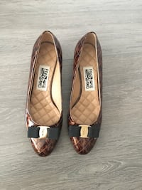 brand new authentic ferragamo flats size 9.5 Burnaby, V5C 4A8