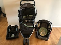 Graco Stroller, car seat and base Calgary, T2K 1G2