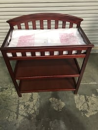New Baby Changing Table + Pad & Cover = all new!!