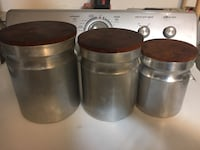 Set of 3 Metal Storage Containers Rockville, 20853