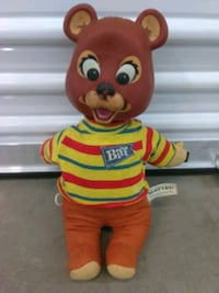 Mattel Biff talking bear Tigard