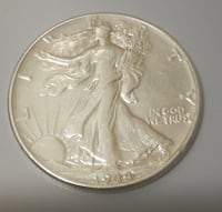 MEDIO DOLLAR 1944,PLATA,WALKING LIBERTY  Linares
