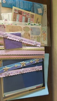 Scrapbook items (pages, paper, stickers, borders) Virginia Beach, 23452