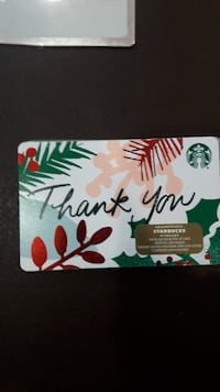 $88 Starbucks gift card