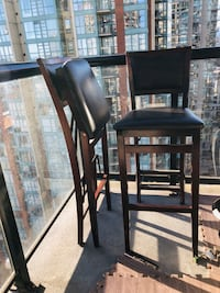 Foldable Chairs (bar table height) Vancouver, V6B 1T7