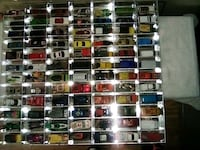 84 matchbox and hot wheels assorted