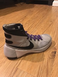 Pair of gray nike basketball shoes North Branford, 06471