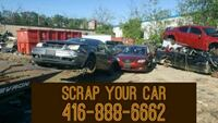 WE BUY SCRAP CARS FOR TOP CASH  Mississauga, L5R 0A4