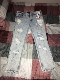 Brand new jeans with tag