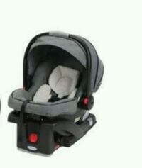 baby's black and gray car seat carrier Dover, 19901