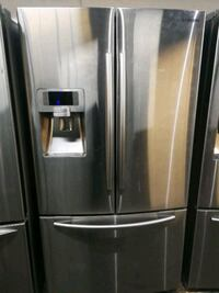 stainless steel SAMSUNG french door refrigerator Toronto, M3J 1N1