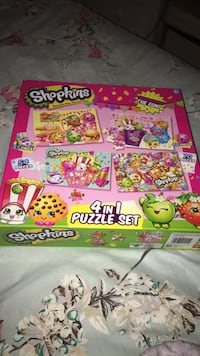 Shopkins puzzle used 1x 4in1 Billingham, TS23 1LS