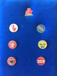 Extremely rare 1984 World Cup of hockey collector pins Edmonton, T6R 0B1