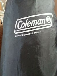 Coleman queen size air mattress with carrying case Monroe