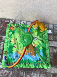 square green jungle activity gym