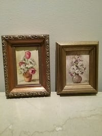 Summer bouquets in oil paint