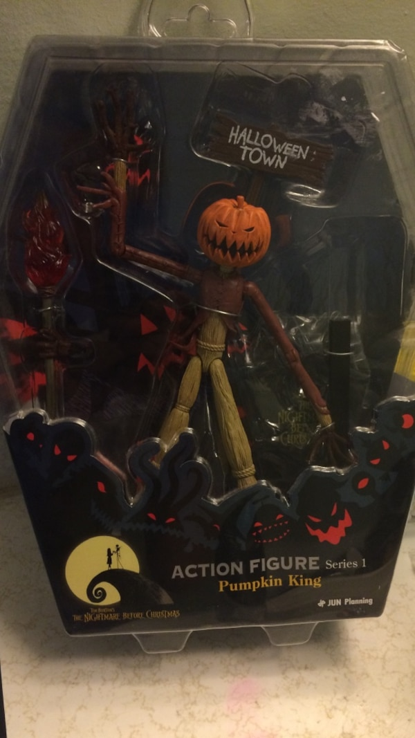 Nightmare before Christmas action figure pumpkin King