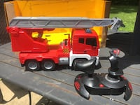 Fire Truck, Remote Control RC with Lights and Sounds New