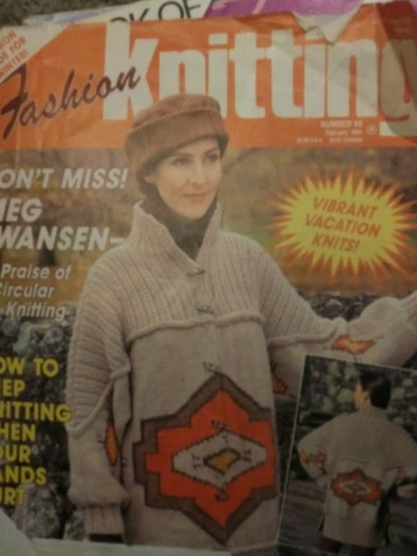 Old knitting magazines from 90's  b871652a-1a63-4ab1-9339-fbe79e82ae23