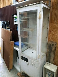 Vintage Metal Apothecary cabinet